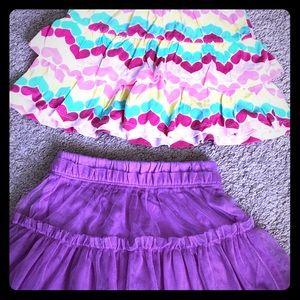 Skirt and skort Bundle size 5 & 5t